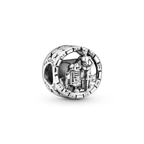 Pandora Талисман C3PO & R2D2