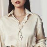 Pandora Колие Красива като роза