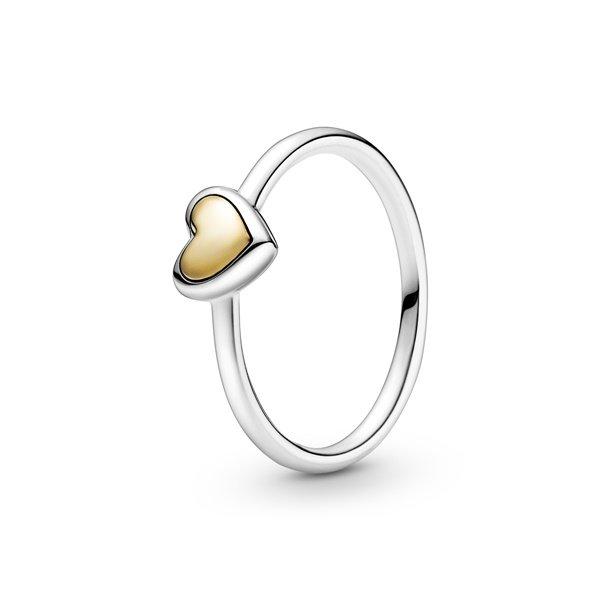 Pandora Пръстен Сърце от злато