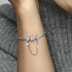 Pandora Осигурителна верижка Сияйна красота