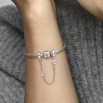 Pandora Осигурителна верижка Цвете на настроението